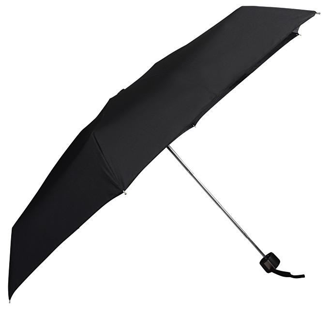 Doppler Dámsky skladací mechanický dáždnik Fiber mini compact 710266BLACK