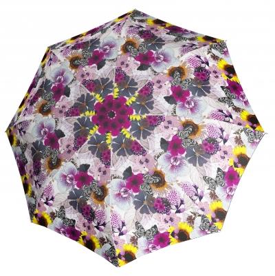 Doppler Dámský skládací plně automatický deštník Magic Fiber Prima Vera 7441465PV02