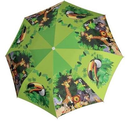 Doppler Dětský holový vystřelovací deštník Jungle 72759J