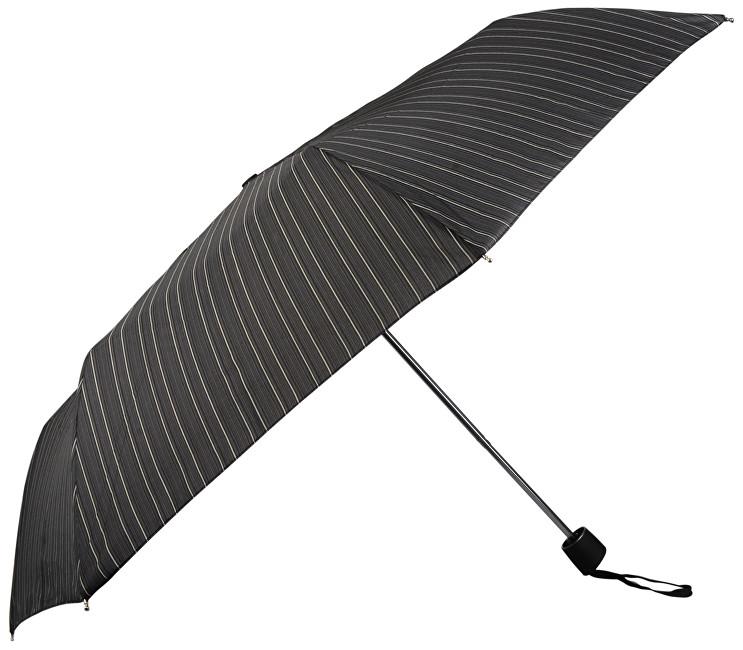 Doppler Pánský skládací mechanický deštník Mini Fiber - pruhovaný 72646703