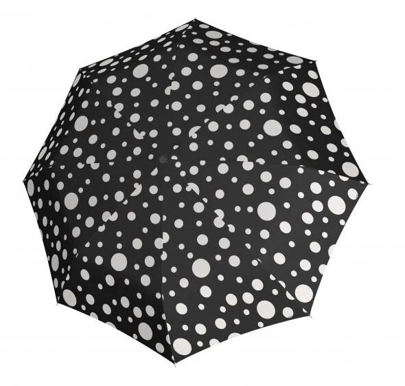 Doppler Skládací automatický deštník Hit Mini Automatic Bubble 7202165PBE black