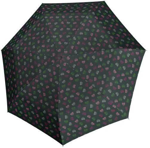 Doppler Skládací mechanický deštník Hit Mini Emotion 700165PE green