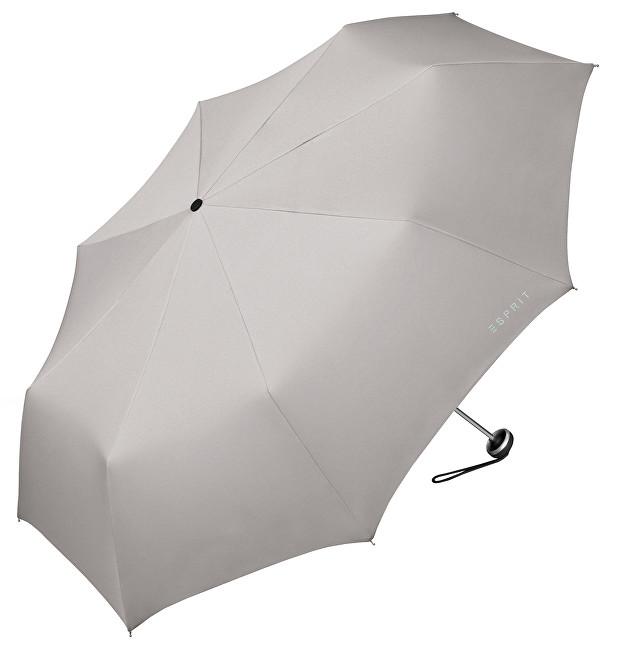 Esprit Dámský skládací deštník Mini Alu Light Mercury Grey