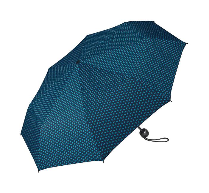 Esprit Dámský skládací deštník Mini Basic printed tmavě modrý se vzorem