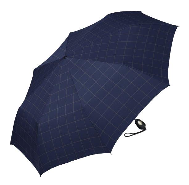 Esprit Pánský deštník Gents Mini Tecmatic Check Blue
