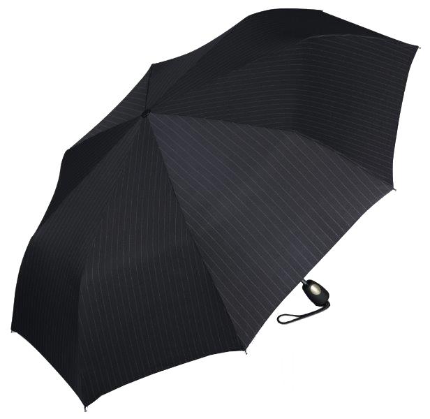 Esprit Pánský deštník Gents Mini Tecmatic Needle Stripe Black