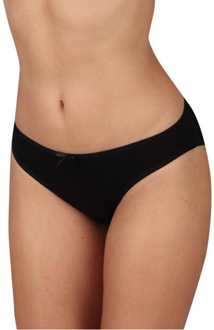 Evona Dámske klasické nohavičky K 178 čierne L