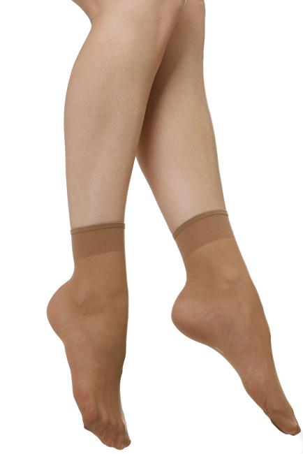 Evona Dámské ponožky Napolo 1004 tělové 5 pack 25-27