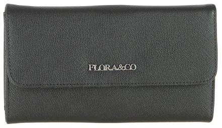 FLORA & CO Dámská peněženka K1218 Noir