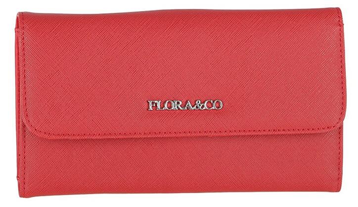 FLORA & CO Női pénztárca  K1218 Rouge