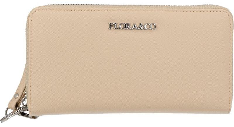 FLORA & CO Női pénztárca  K1688 Beige Taupe