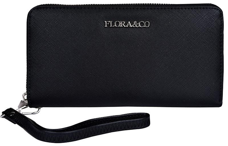 FLORA & CO Női pénztárca K1688 Black