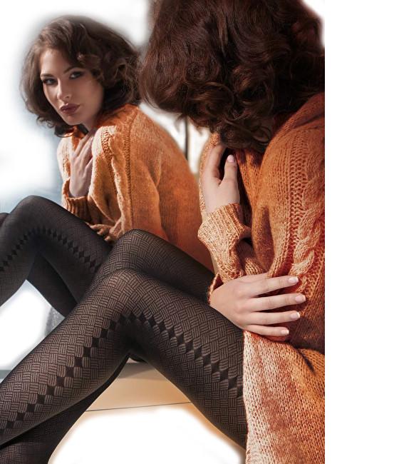 Gatta Černé dámské punčochové kalhoty Naomi 02 Nero 2