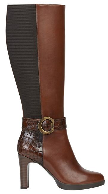 GEOX Pantofi pentru femei D Annya High Brown D94AED-0436Y- C001 3 36