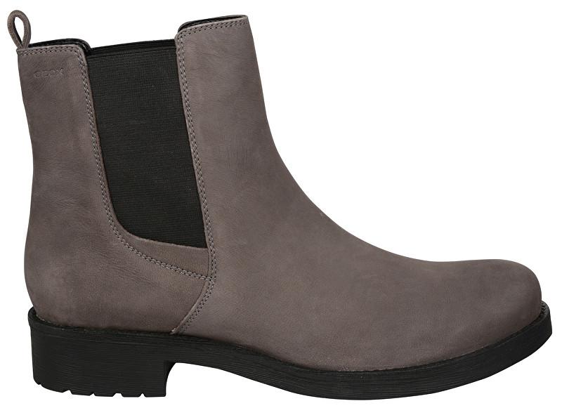 GEOX Dámske členkové topánky Donna New Virna Mud D7451F-000LT-C6372 38