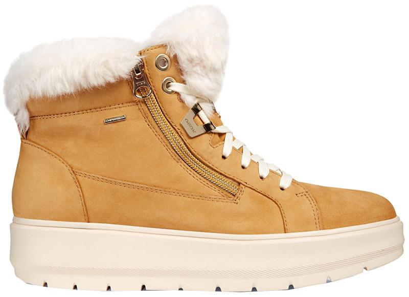 d5e8a6700 GEOX Dámske členkové topánky Kaul B Abx D Biscuit D84AWD-00032-C5046 40