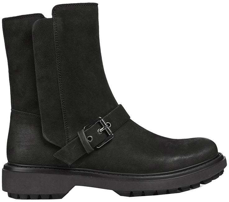 GEOX Dámske členkové topánky Asheely F Black D847AF-000LT-C9999 38