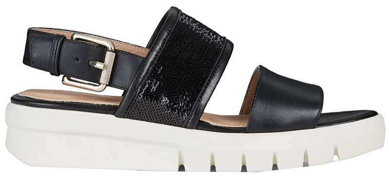 GEOX Sandale pentru femei Wimbley Sandal B Black D92DPB-043AY-C9999 39