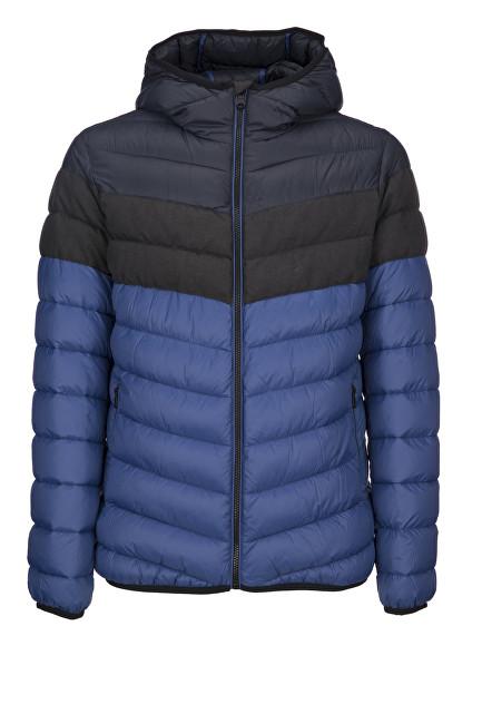 GEOX Jachetă pentru bărbați Dk Navy/M.Plumb/Colo M7428H-TC104-F4380 50