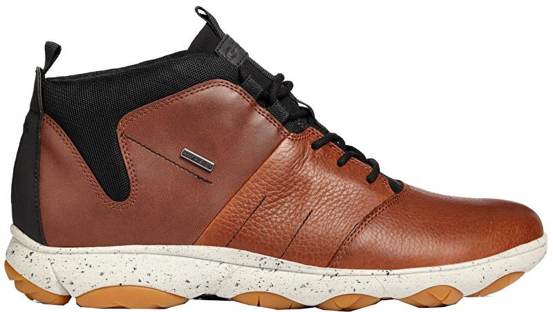 GEOX Pánske členkové topánky Nebula 4x4 ABX A Brown cotto / Cognac U742VA-046EK-C6G6N 41