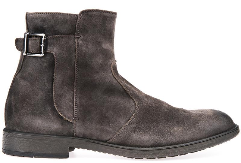 GEOX SLEVA - Pánské kožené boty Jaylon Mud U74Y7A-00022-C6372