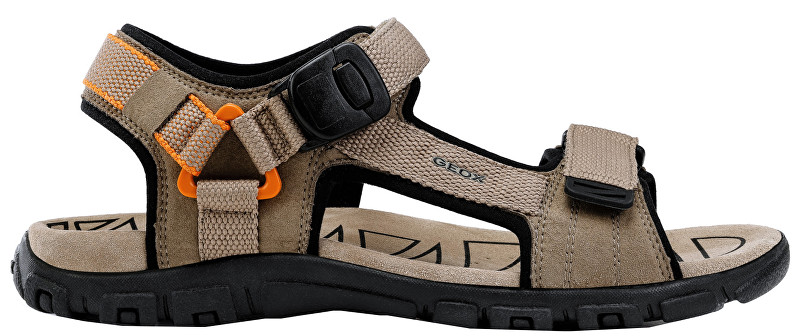 GEOX Sandale pentru bărbați Uomo Sandal Strada B Sand/Orange U9224B-000AF-C0704 44