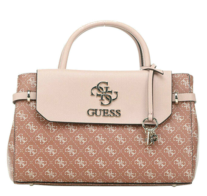 Guess Dámká kabelka Esme Girlfriend Satchel cinnamoncin