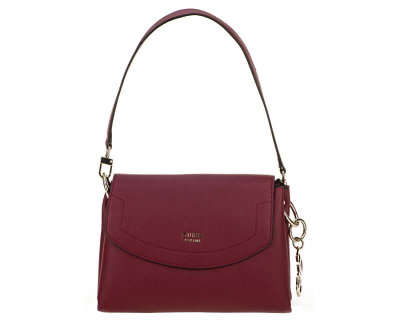 Guess Geantă pentru femei Digital Shoulder Bag HWVG68 Bordo