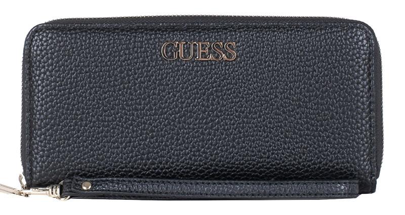 Guess Dámská peněženka Alby Slg Large Zip Around SWVG74 55460 Black-Bla Guess