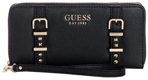 Guess Dámská peněženka Eileen Large Zip-Around Wallet Black
