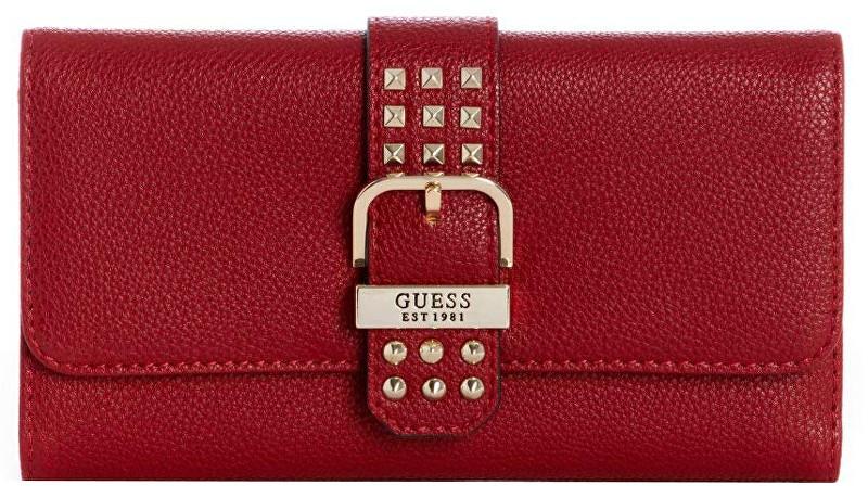Guess Portofel pentru femei Eileen Studded Multi Clutch Crimson