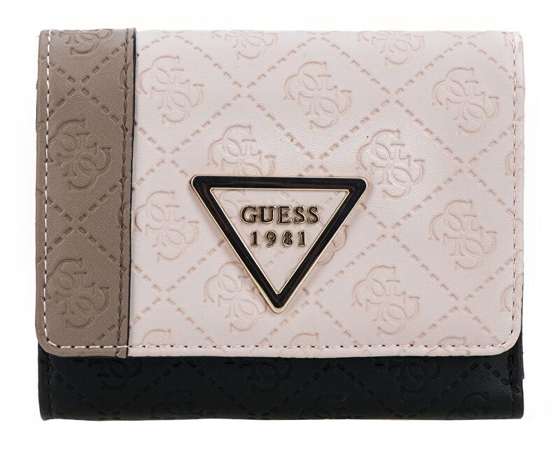 83e89688f9 Guess Dámska peňaženka Kamryn SLG Small Trifold SWCV66 Black