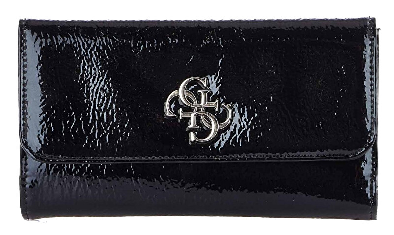 Guess Dámská peněženka Kelsey Slg Pocket Trifold Black-Bla Guess