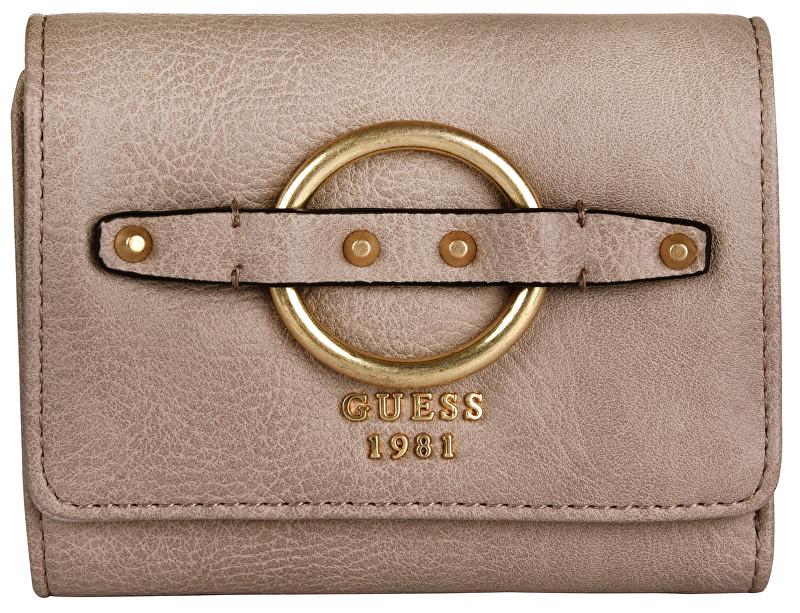 Guess Femei portofelul Dixie Small Trifold Wallet Sand