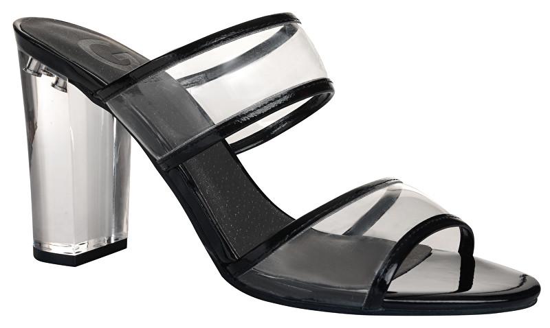 594257b4bb7c Hodinky Guess Dámske sandále G by GUESS Br ayla Lucite Mules 37