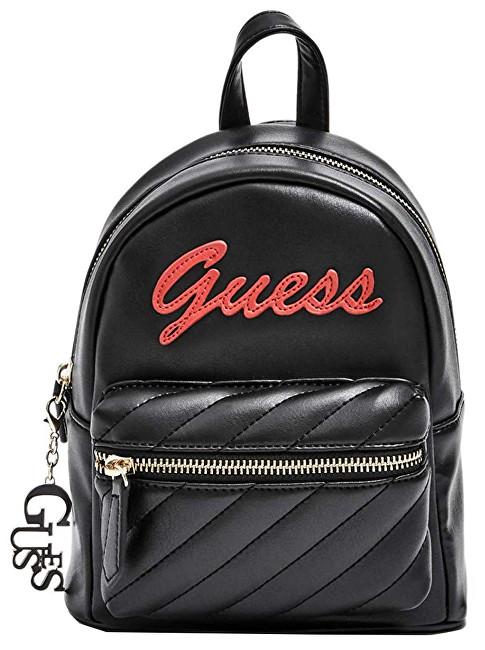 Guess Femei de rucsac Factory Women`s Feliz Logo Convertible Mini Backpack Black