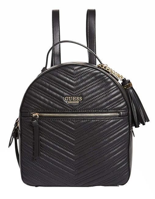 Guess Rucsac pentru femei Liz Quilted Backpack Black