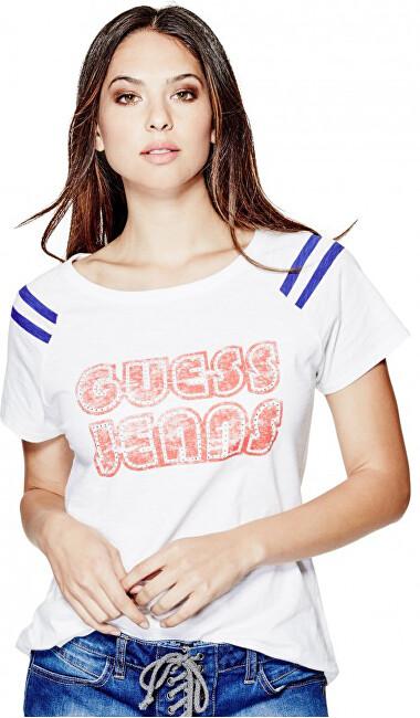 Guess Dámské triko Kellen Logo Tee S