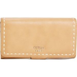 80150cc5c3 Guess Elegantná dámska peňaženka Julia na FileClutch in Cognac