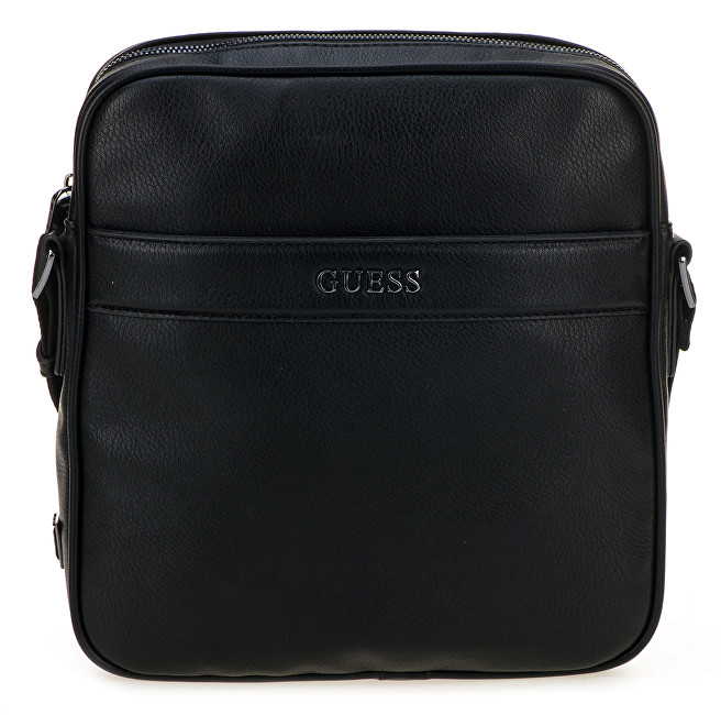 Guess Pánska taška City Top Zip Crossbody HM6536 Black