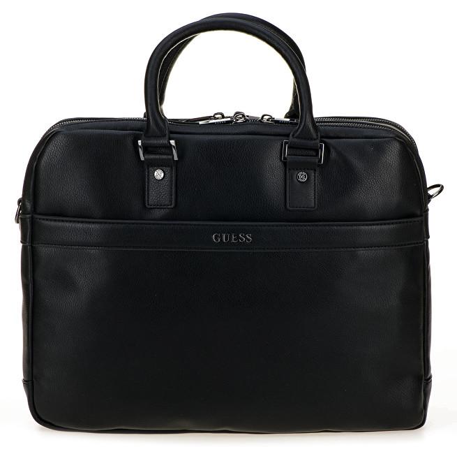 Guess Pánska taška City Workbag Double Compartmen HM6540 Black