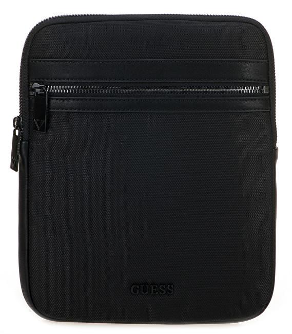 Guess Pánska taška Global Functional Flat Crossbody HM6570 Black f031eabc80e
