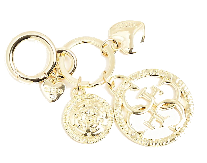 Guess Prívesok Not Coordinated Keychain Gold