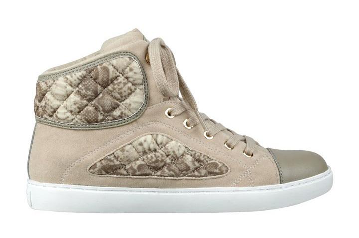 Guess Tenisky Revere Tweed High-Top Sneakers natural 39 d3d939b31db