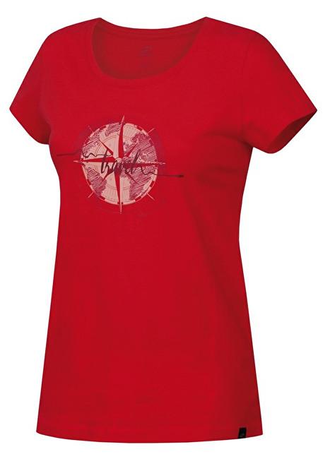 Hannah Dámske tričko Flandis Rouge Red 1 40
