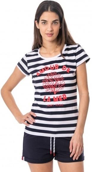 62aac61bb895 Hodinky Desigual Dámske tričko TS Susurro Blanco 19SWTKCM 1000 S