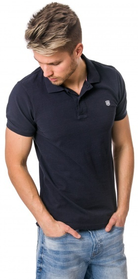 8bb646f015f0 Heavy Tools Pánske tričko Desmond S18-215 Navy L