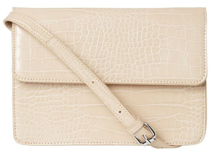 Pieces Dámská crossbody kabelka PCJULIE CROSS BODY NOOS White Pepper