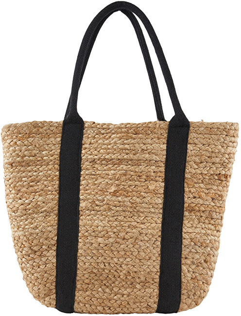 Pieces SHOPPING BAG FEM JU100 Nature / Black