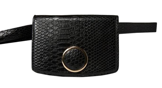 Pieces Femeile Celynn Belt Bag Black
